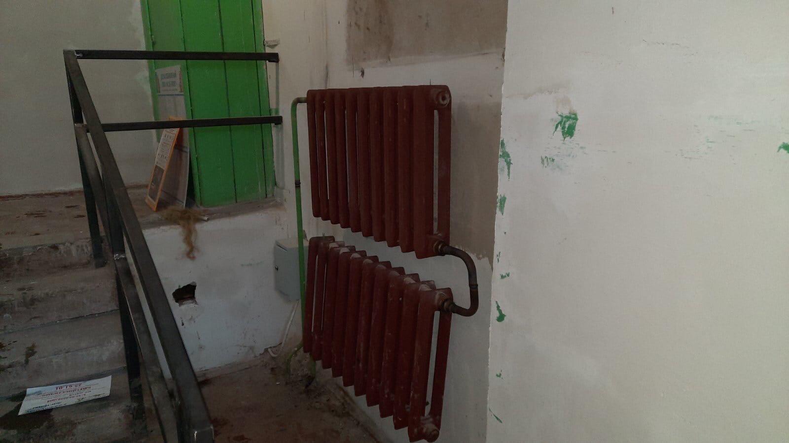 Улица Кольцова дом 13-5 под. замена радиаторов