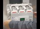 Установка выдвижного устройства на стационарные автоматические выключатели серий