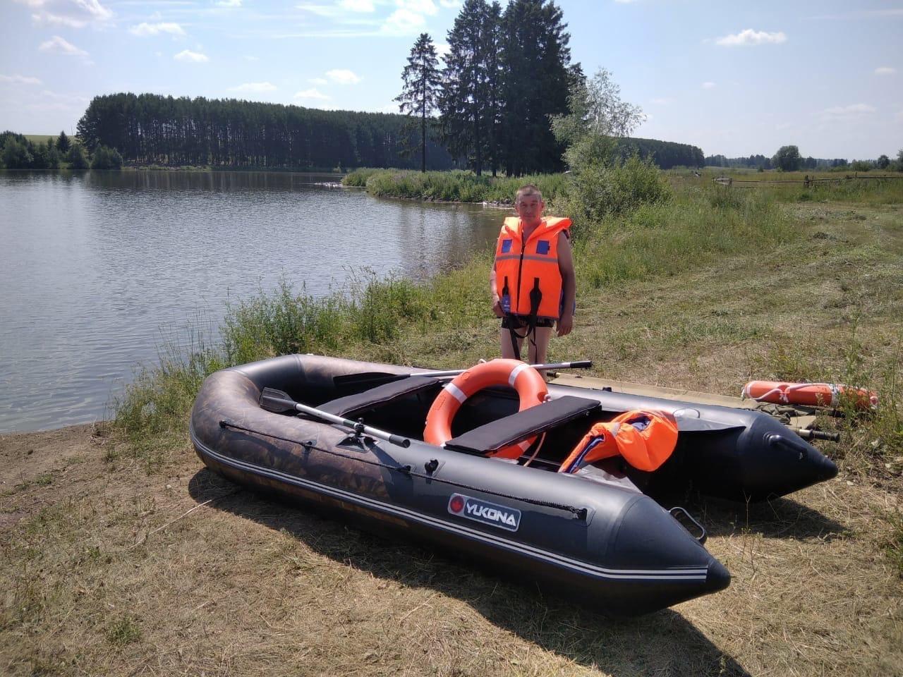 На Пазяльском пруду теперь дежурят матросы-спасателиПост укомплектован: