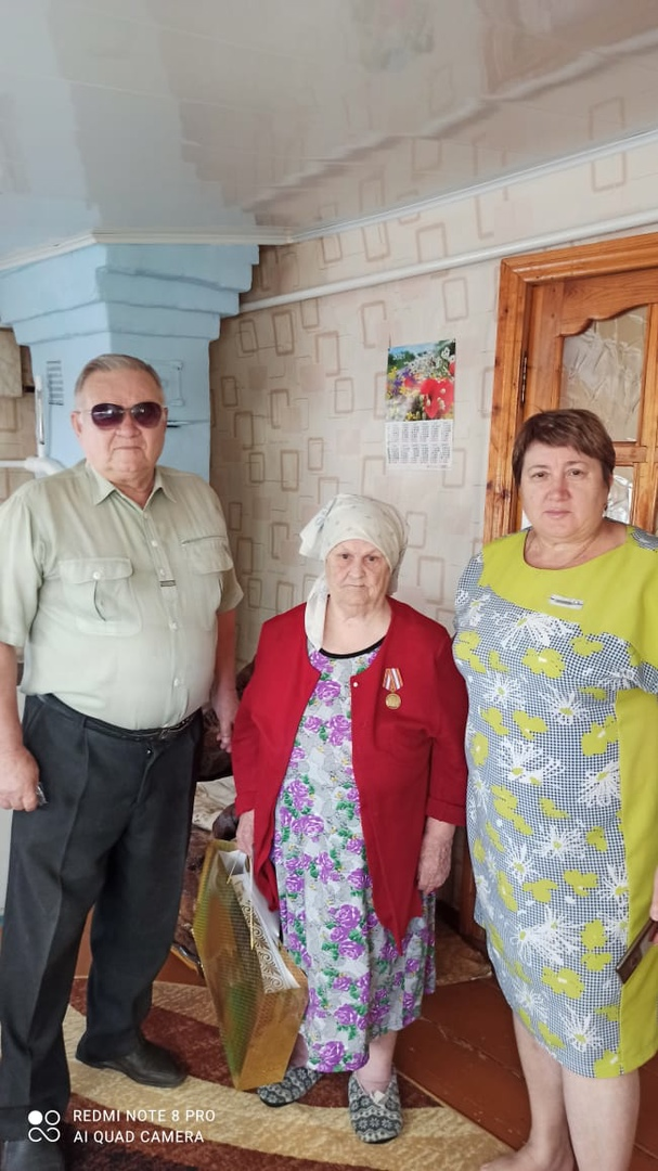 Сегодня 90-летний юбилей отмечает жительница посёлка Пригородный Нина Ивановна ВОЛКОВА