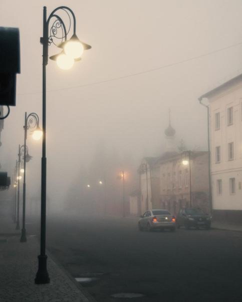 Рыбинск. Осенние туманы. ????  Фото: chklvsv #Ярославль #Рыбинск #Openyar