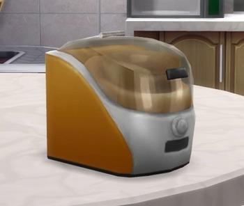 мороженое в Sims 4