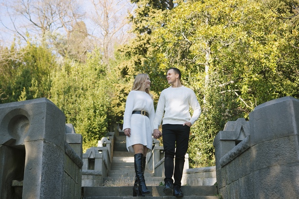 Фотосессия Love Story в Алупке. 10.19