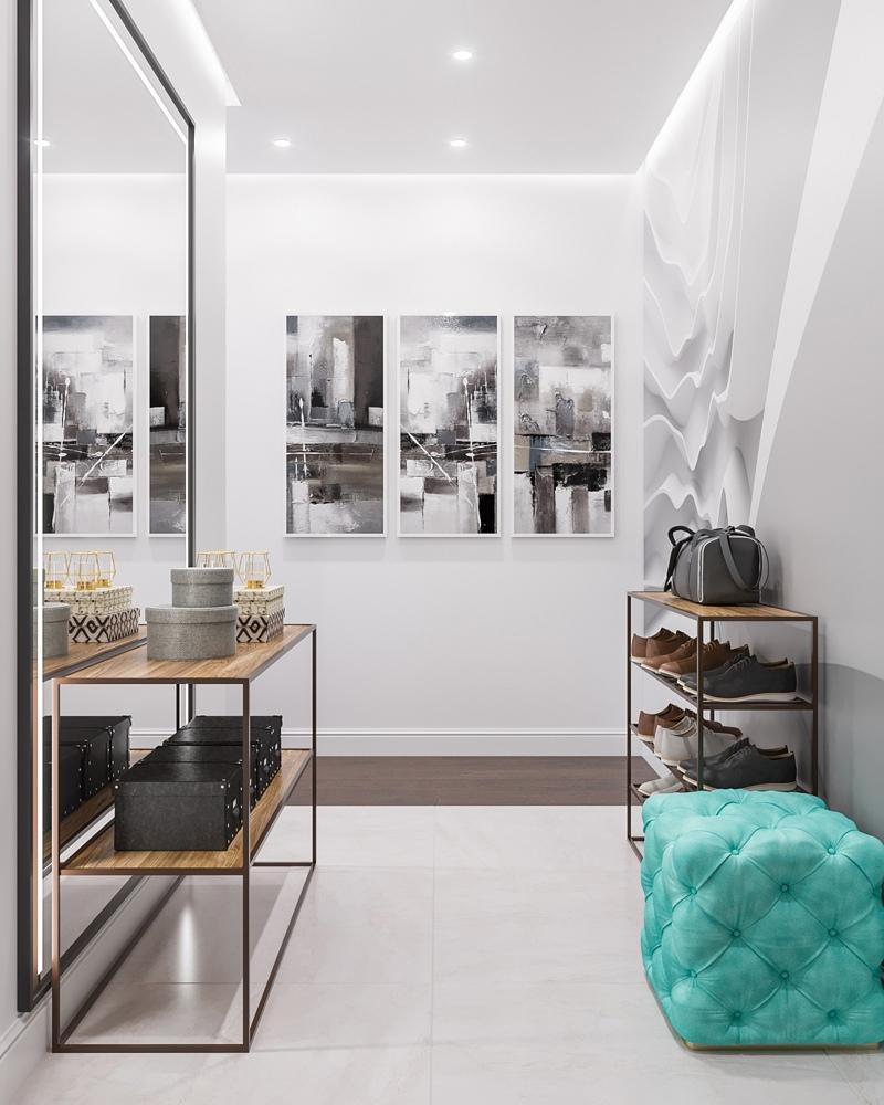 Проект квартиры 52,6 кв.
