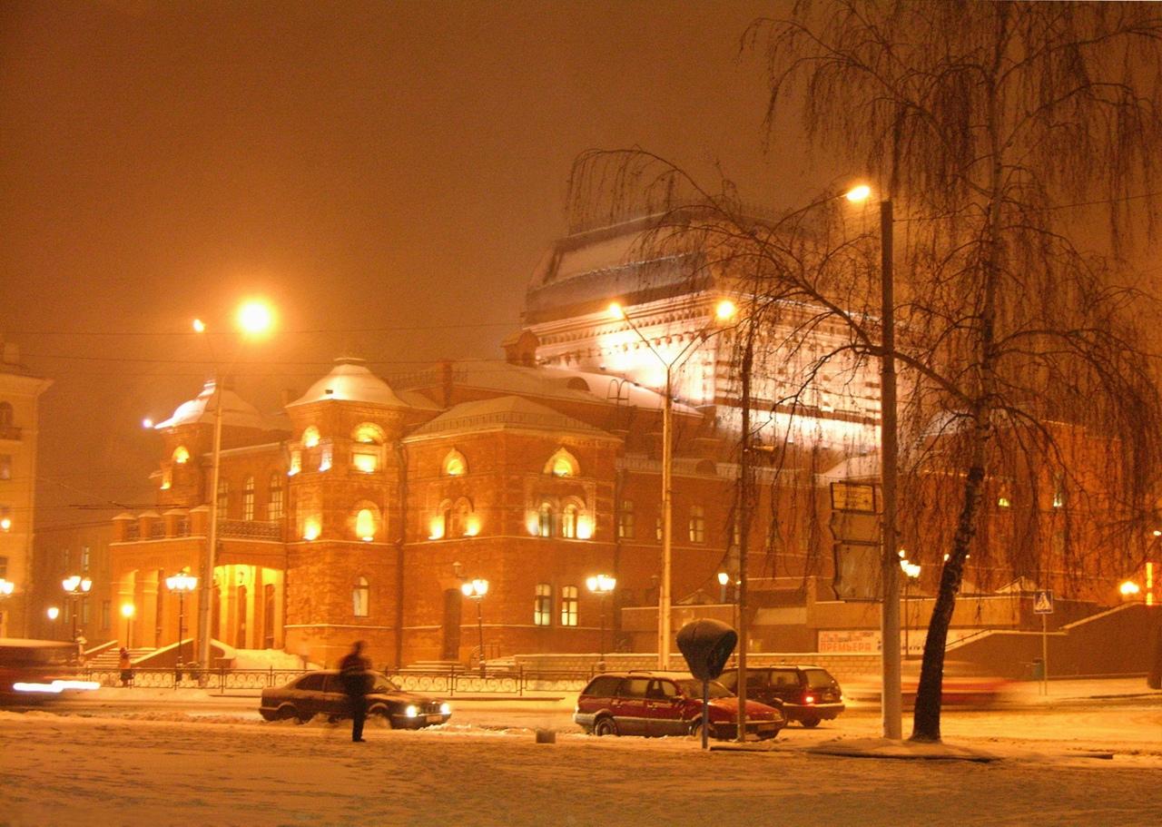 Могилевский драматический театр. Фото Александра Литина