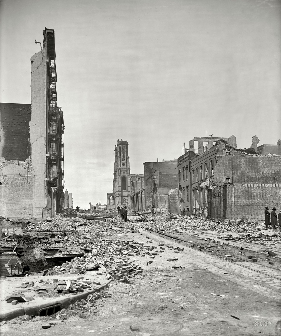 HD-фотографии городов США сделанные в 1900-1915 годах, изображение №32