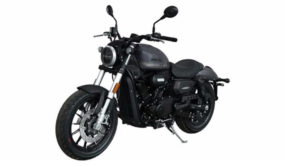 Шпионские фото 300-кубового Harley-Davidson (Китай)