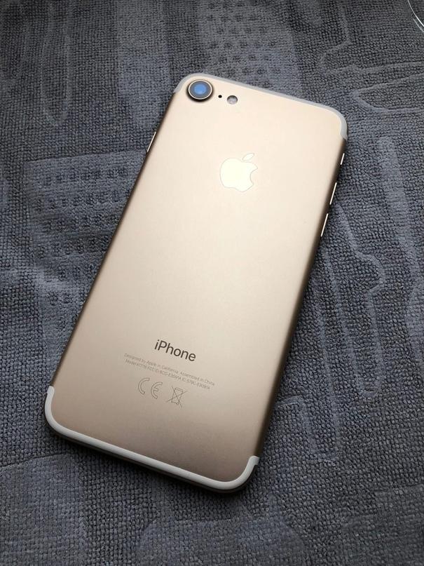 Купить iPhone 7 128Gb Gold Евротест, ничего не | Объявления Орска и Новотроицка №16058