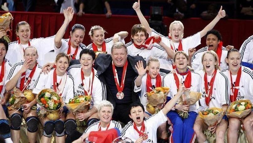 Сборная России на чемпионате мира-2007 во Франции