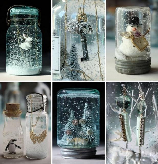 Как сделать новогоднюю композицию в стеклянной банке своими руками,