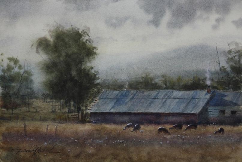 Американский художник-акварелист. Robert McFarland, изображение №43
