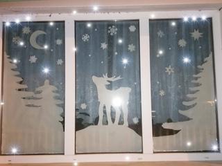"""""""Новый год в окне"""""""
