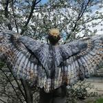 """Крылья """"Большая сипуха"""" (светлые, с подкладкой)"""