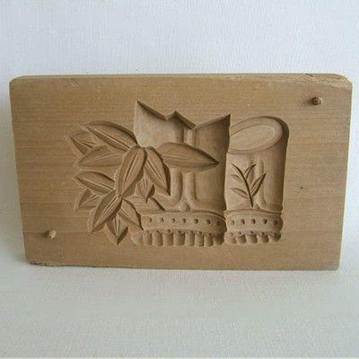 Японские деревянные резные формы Кашигата, изображение №17