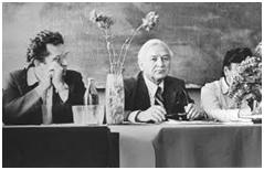 Г.К. Голосов (в центре)