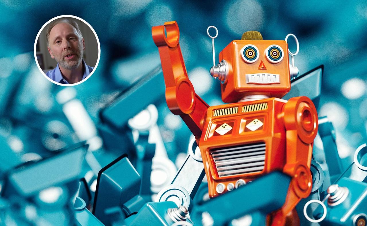 Восстание игрушечных роботов.