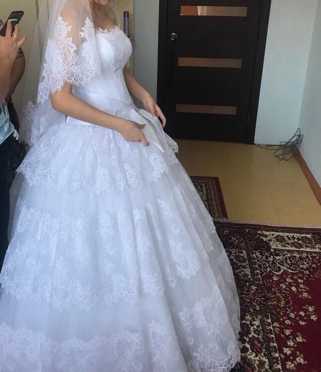 Купить шикарное свадебное платье для | Объявления Орска и Новотроицка №17725
