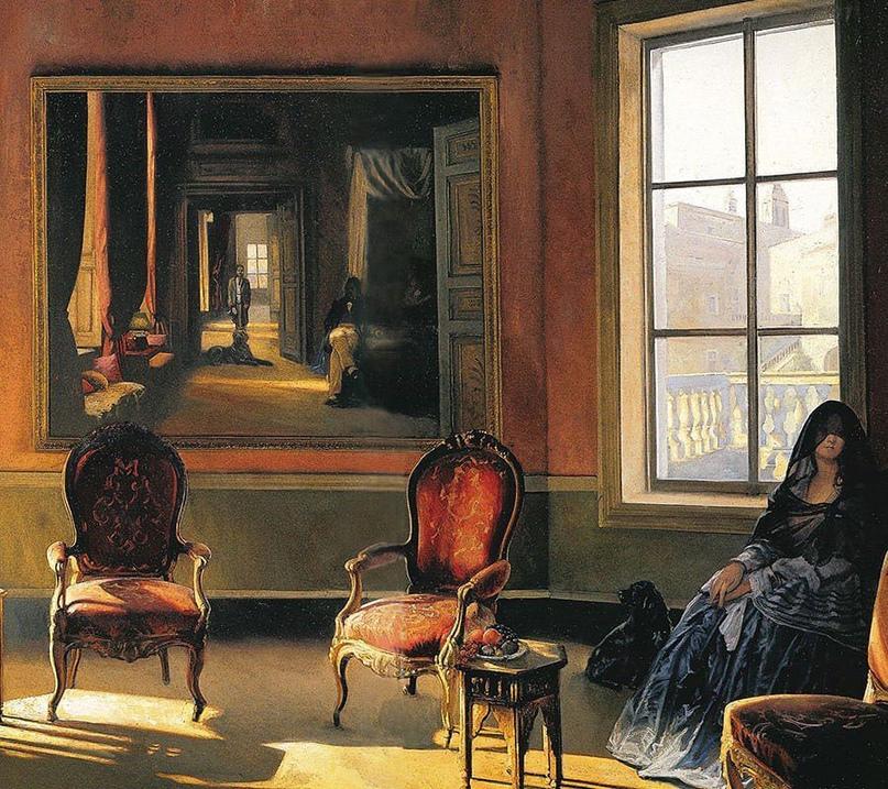 Французский художник-реалист. Alain Senez, изображение №12