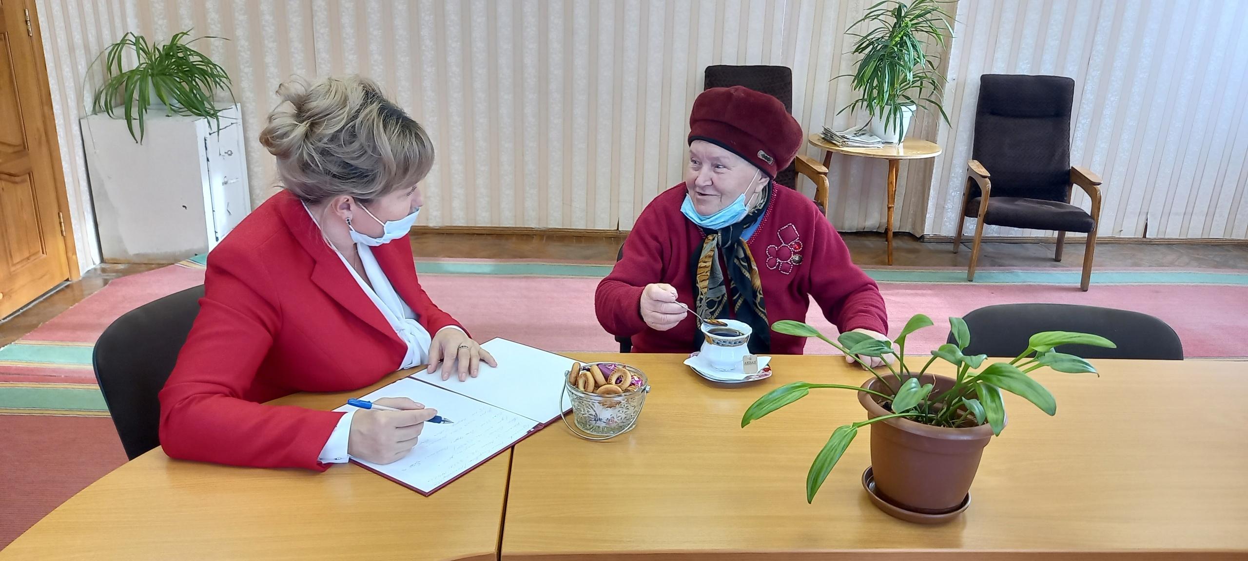Нина Бушенева побывала на личном приёме в Администрации Удорского района