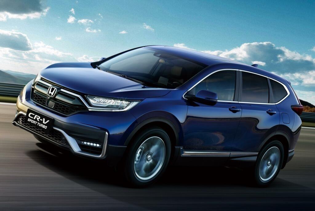 9 место: Honda CR-V — 101 469 шт., 1,5% рынка