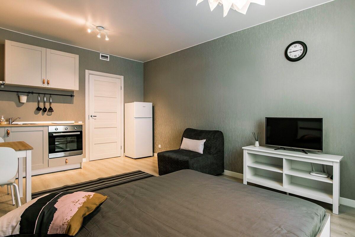 Экономный ремонт квартиры-студии 26 кв.
