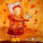 Стало холодно в лесу… — стихи про октябрь для детей