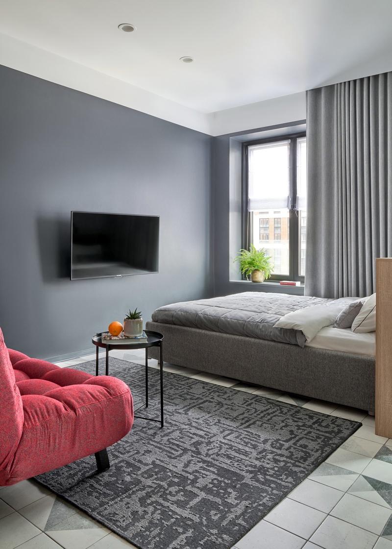 Интерьер квартиры-студии 31 кв.