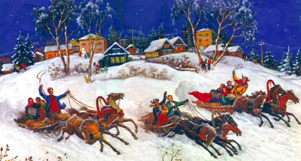 Когда и как празднуют Святки на Руси: Традиции, обычаи, гадания…
