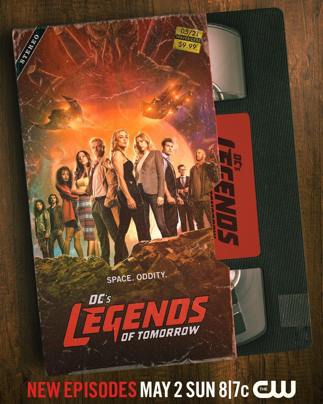 Легенды завтрашнего дня | DC's Legends of Tomorrow | 6 сезон