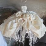 Балетный винтаж из бумаги и лоскутков