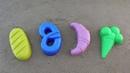 Учим цвета с детьми Learn colors with kids loaf bagel cupcake ice cream