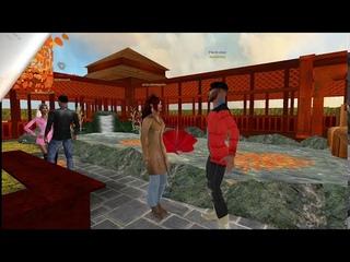 Флешмоб- Прогулки под дождем-Тьюторы Love Sity 3D