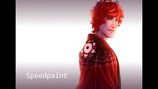 Kitsune SPEEDPAINT by SARA