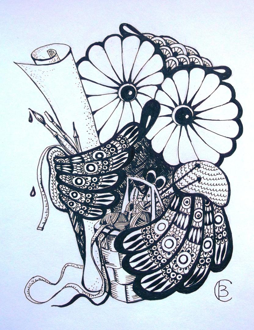 Серия картин «Совы»
