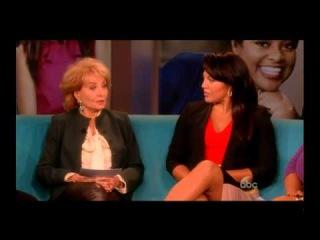 Sara Ramirez on The View [11th Nov 2013]
