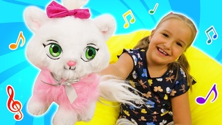 The Kitty song for kids! Super simple songs for babies. Funny nursery rhymes.