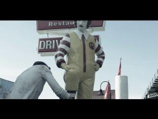 Banksy's Ronald McDonald Shoe Shine piece