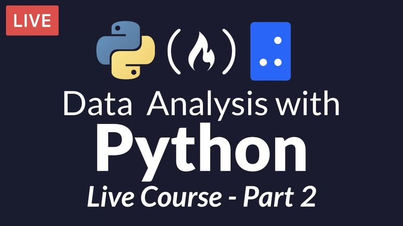Data Analysis with Python Part 2 of 6 - Python Functions and Working with Files (Live Course)