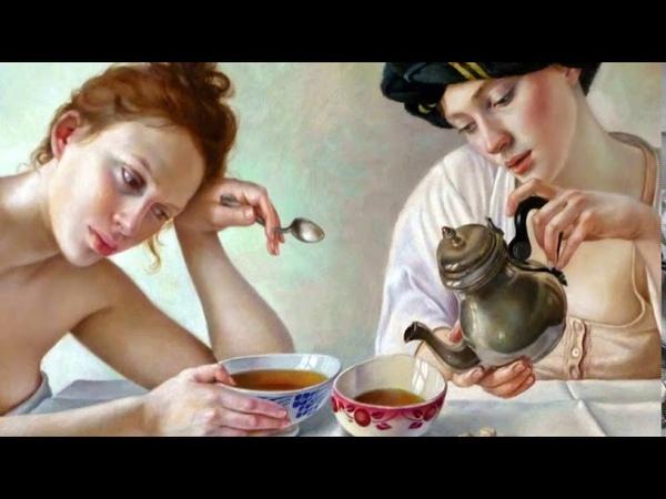Французская художница Francine Van Hove мир таинственных гармоний Женщины в повседневной жизни