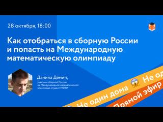 Не один дома: Как отобраться в сборную России и попасть на Международную математическую олимпиаду
