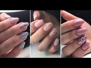 НОВАЯ ПОДБОРКА Дизайн ногтей 2021 - Nail Design 2021 | Нежно розовый маникюр весна-лето 2021
