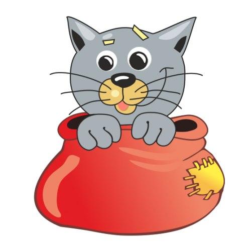 экстравагантной кот в мешке картинка прозрачный фон наиболее встречаемых