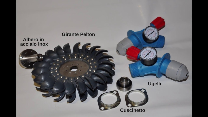 Costruire un generatore idroelettrico a turbina Pelton