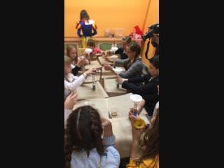 Мы на мастер-классе в «Парке Детства»