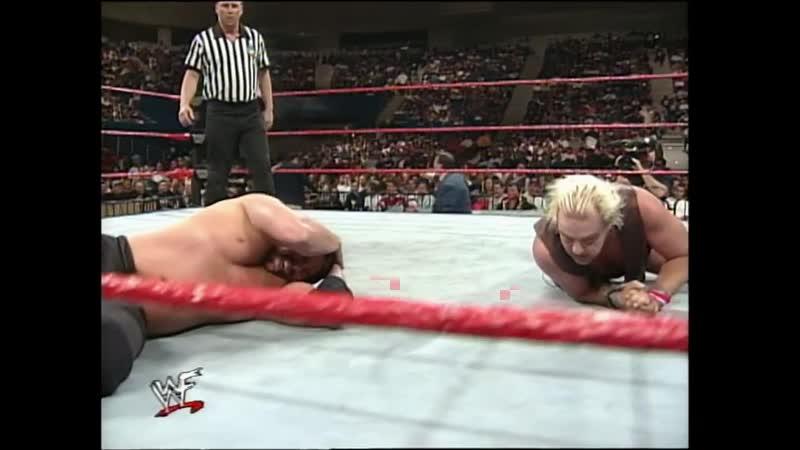 WWF Raw Is War 23 03 1998 Bradshaw vs Barry Windham