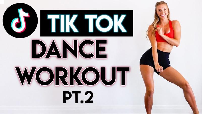 15 MIN TIKTOK DANCE PARTY WORKOUT pt.2 - Full Body/No Equipment