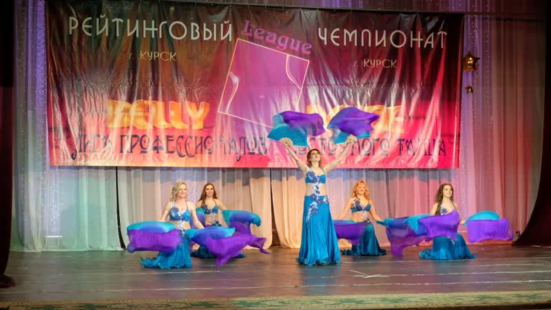 СВТ Грация г. Орел, шоу с вейлами- 1 место