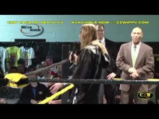 CZW: Tommy Dreamer opens up Cage of Death XV! ()