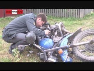 Разбился в день покупки мотоцикла