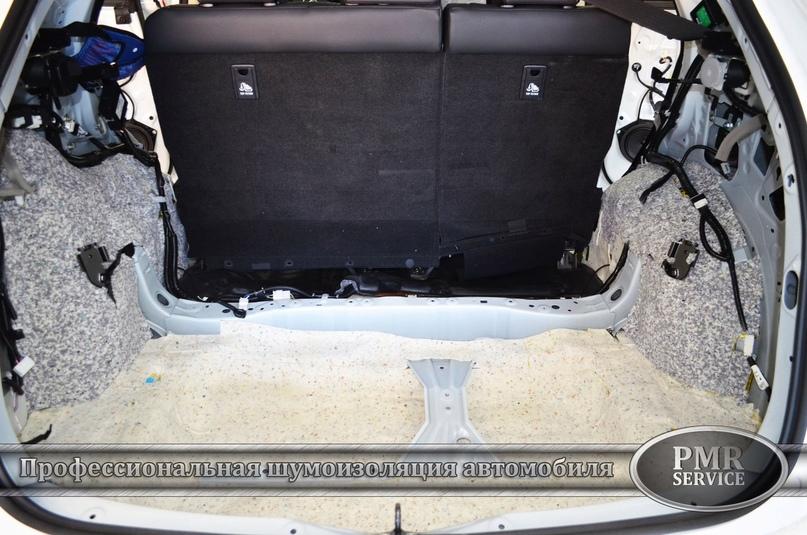 Комплексная шумоизоляция Lexus NX 200, изображение №11